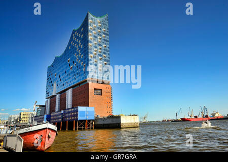 Elbphilharmonie Building In Hamburg, Germany - Stock Photo