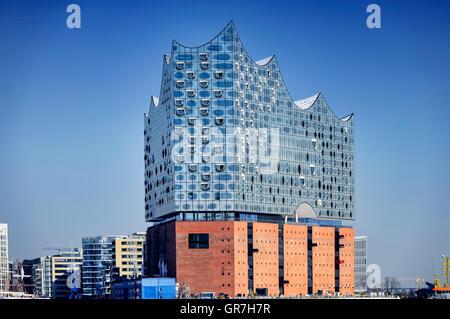 Elbe Philharmonic Hall In Hamburg, Germany - Stock Photo