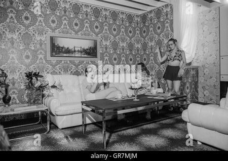 ... Furniture Store 1972 Bw   Stock Photo