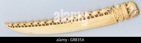 Paper Knife Ivory - Stock Photo