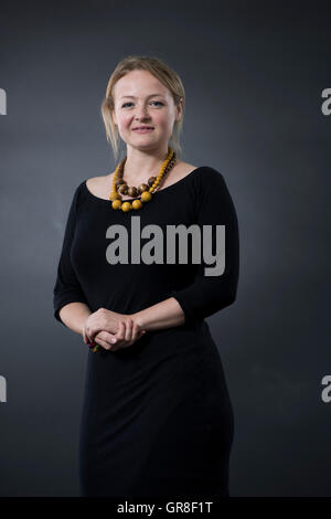 Author Lucy Ribchester. - Stock Photo