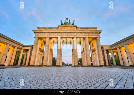Brandenburger Tor in Berlin, Germany. - Stock Photo