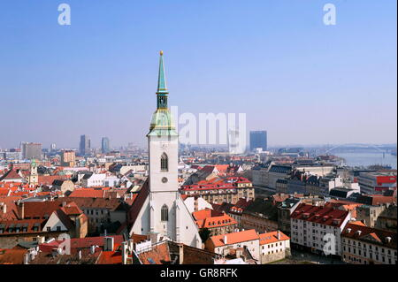 Martins Cathedral In Bratislava - Stock Photo