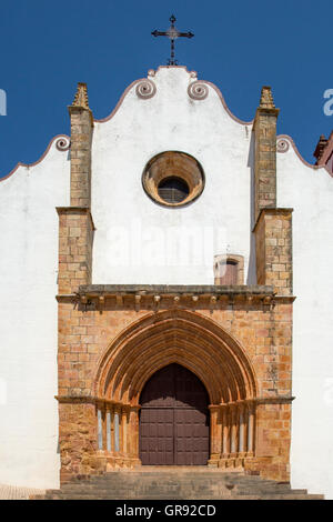 Cathedral Of Silves, Algarve, Portugal, Europe - Stock Photo