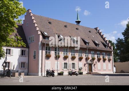 Town Hall, Breisach Am Rhein, Upper Rhine, Baden-Württemberg, Germany, Europe - Stock Photo