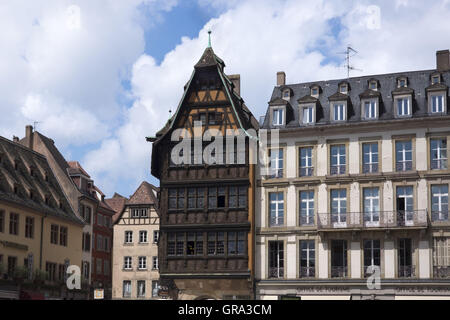 chamber cell house strasbourg france stock photo royalty free image 68010782 alamy. Black Bedroom Furniture Sets. Home Design Ideas