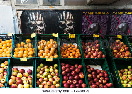 Fruit Shop And Fantasy Posters - Stock Photo