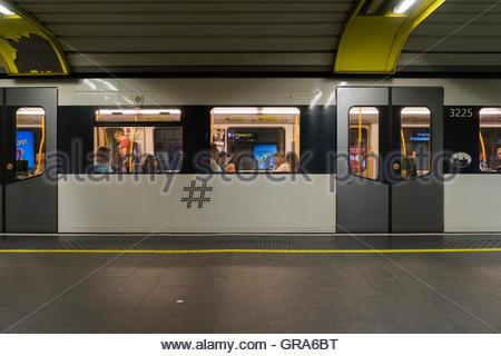 Underground In Oslo - Stock Photo