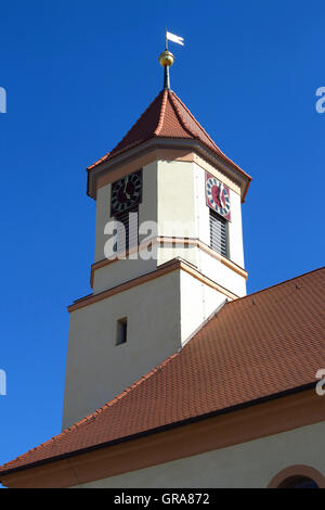 Kirchturm - Stock Photo