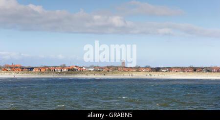Norderney, East Frisian Island, East Frisia, Lower Saxony, Germany, Europe - Stock Photo