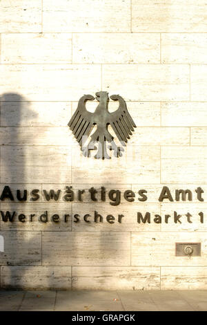 Foreign Office Berlin - Stock Photo