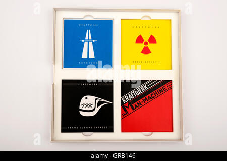 Kraftwerk The Catalogue CD box set - Stock Photo