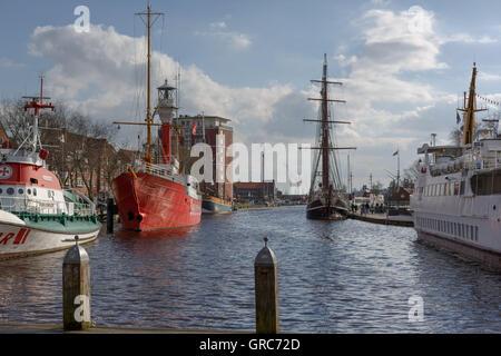 Ratsdelft In Emden - Stock Photo