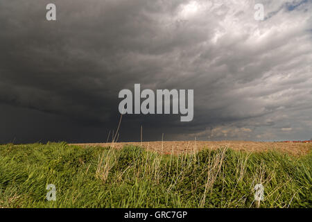 Storms Over East Frisia - Stock Photo