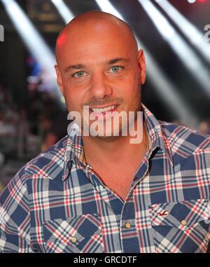Christian Tews The Wba World Championship Fight Chagaev Vs. Pianeta On 11 July 2015 In Magdeburg - Stock Photo