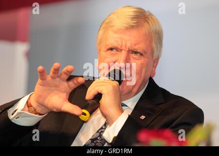 Prime Minister Hessen Volker Bouffier - Stock Photo