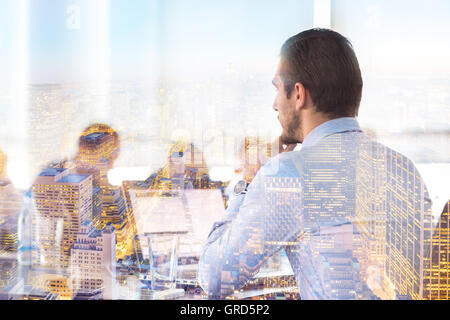 Corporate business meeting. - Stock Photo