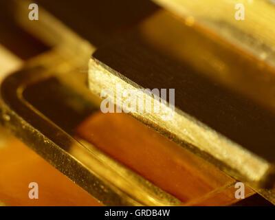Gold Bares - Stock Photo