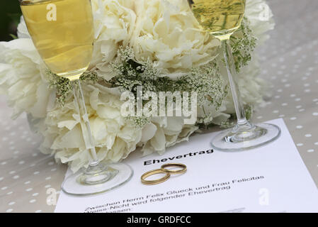 Prenup, Wedding, Symbolic Image