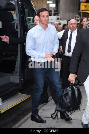 New York, NY, USA. 7th Sep, 2016. New York, USA. 7th September, 2016. Ryan Lochte out and about for Celebrity Candids - Stock Photo