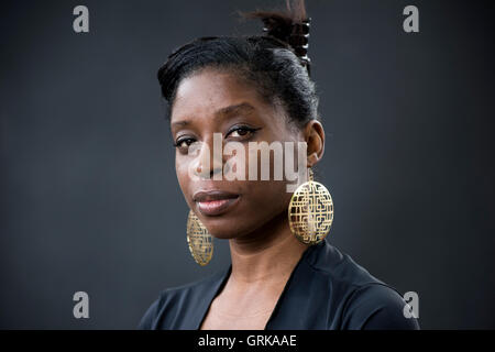 British-Nigerian writer, curator and Arts Project Manager Irenosen Okojie. - Stock Photo