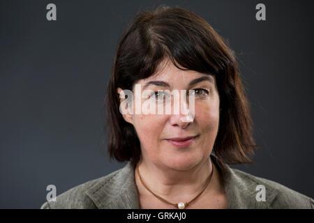 English author Joanne Harris MBE. - Stock Photo