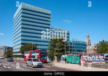 Croydon Council building, London England United Kingdom UK - Stock Photo