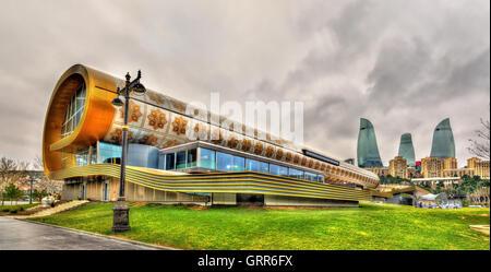 Carpet Museum in Baku on January 7, 2016 - Stock Photo