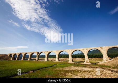 Tausyubetsu river bridge - Stock Photo