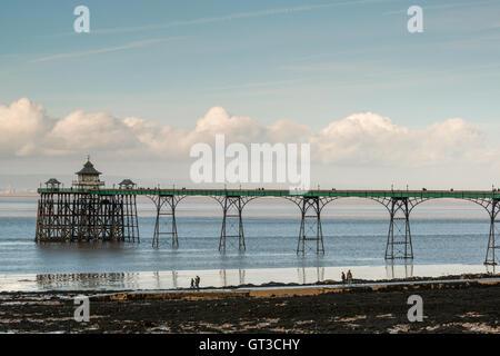 Clevedon pier, Clevedon, Somerset