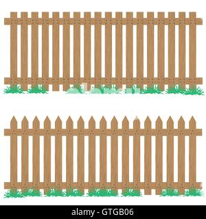 Background Border Cartoon Decoration Design Enclosure Fence - Cartoon fence clip art