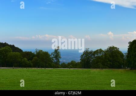 Gorgeous and elegant Italian garden. Piedmont, Italy. Marco Imazio  © - Stock Photo