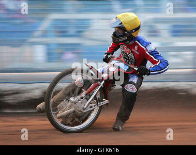 Leigh Lanham - Reading Bulldogs vs Lakeside Hammers - Elite League Speedway at Smallmead, Reading- 23-04-07 - IMAGES - Stock Photo