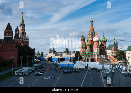 Moscow, Russia. Saturday, September 10, 2016. Annual two-day festival The City Day is under way in Moscow, Russia. - Stock Photo