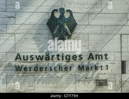 Department of Foreign Affairs - foreign ministry in Berlin Germany - Stock Photo