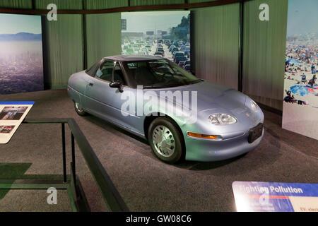 General Motors EV1 electric car - USA - Stock Photo