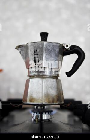 Espresso machine cafe crema