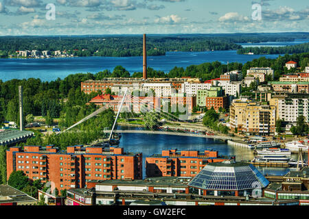 July 2016, urban capture of Tampere (Finland) - Stock Photo