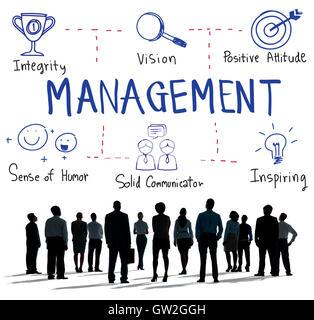 Management Coaching Business Dealing Mentor Concept - Stock Photo