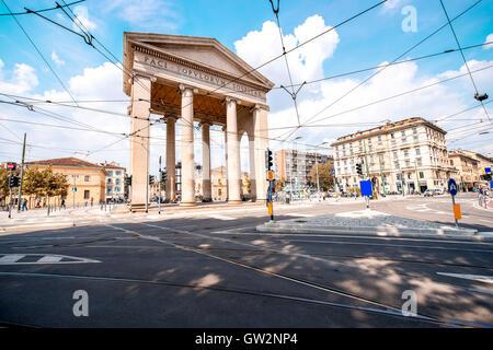 City gate in Milan - Stock Photo