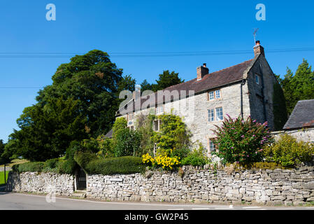 Tissington, (Peak District National Park) Derbyshire, England, UK. - Stock Photo
