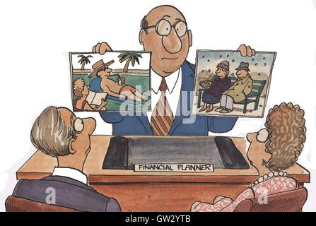 Financial Planner - Stock Photo