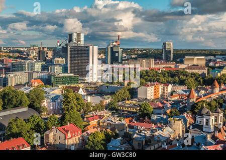 New part of city of Tallinn in Estonia - Stock Photo