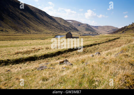 The Findhorn Valley, Northern Highlands of Scotland, May 2016 - Stock Photo