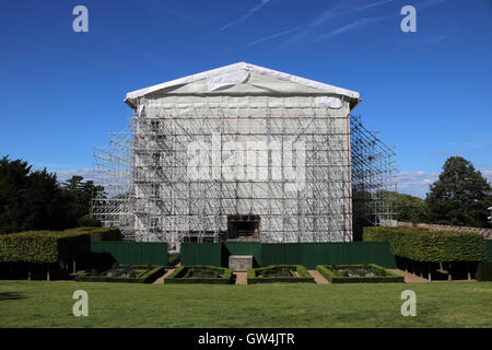 Clandon Park, Surrey, England, UK. 11th September 2016. Clandon Park a Palladian style masion in Surrey held a free - Stock Photo