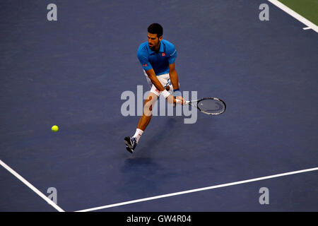 New York, United States. 11th Sep, 2016. Novak Djokovic during the United States Open Tennis Championships Final - Stock Photo