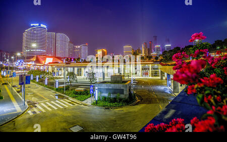 Nanning, Nanning, China. 12th Sep, 2016. Nanning, CHINA-?September 9 2016:?(EDITORIAL?USE?ONLY.?CHINA?OUT) .Urban - Stock Photo