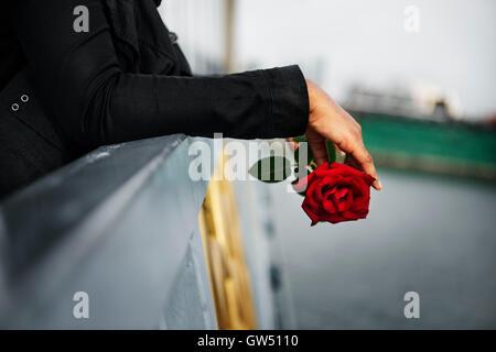 Love Pain Hurt Depressive Disappointed Broken Concept - Stock Photo