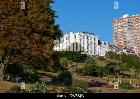 Westcliff Hotel, Southend On Sea, Essex, UK. End of 2016 Summer - Stock Photo
