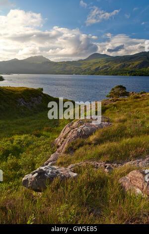 Loch Maree - Scottish Highlands, UK - Stock Photo